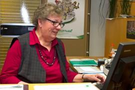 Paula Peippo jäi juuri eläkkeelle Kyrön Seudun Osuuspankista 48 vuoden pankkiuran jälkeen. Kuva: Marika Koliseva