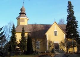 Tarvasjoen kirkosta saattaa tulla kappeli. Kuva: Asko Virtanen