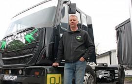 Mika Mäkinen on kilpaillut viime vuosina ratakuorma-autojen EM-sarjassa, mutta nyt hän pitää välivuoden. Kuva: Maija Paloposki