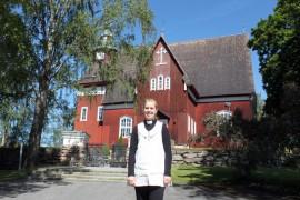 Merelle Johansson on yläneläisten uusi kappalainen.