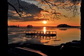 """Jari Korpelan valokuva """"Auringon silta"""" on mukana kotiseutumuseon näyttelyssä."""