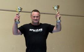 Voimanostaja Pasi Jokela voitti kultaa ja hopeaa world cupissa TUrussa.