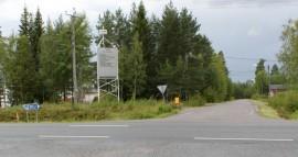 Tyllin teollisuusalueen risteyksen kehittäminen on yksi niistä hankkeista, jotka Auranmaan yrityspalvelut ennätti tehdä Tarvasjoella. Kuva: Marika Timonen.