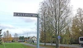 Kuntaliitos vaikuttaa teiden nimiin Tarvasjoella. Kirkkotiestä halutaan tehdä Tarvasjoen Kirkkotie.