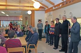 Kosken vanhus- ja vammaisneuvosto esittäytyi palvelukeskuksen avointen ovien päivänä keskiviikkona.