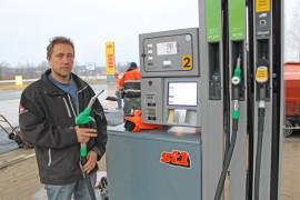 Antero Lehto on Yläneen St1-aseman yrittäjä.