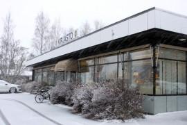 Tarvasjoen kirjastoa uhkaa sulkeminen. Kuva: Asko Virtanen.