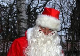 Jani Virtanen alias joulupukki