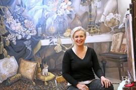 Johanna Oraksen uuden työn värimaailmaan on vaikuttanut matka Kapkaupunkiin.