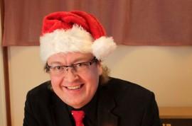Juha Simola julkaisi ensimmäisen joululevynsä.
