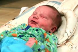 Auralaisten Karppien kuopus on Auranmaan tämän vuoden ensimmäinen vauva.