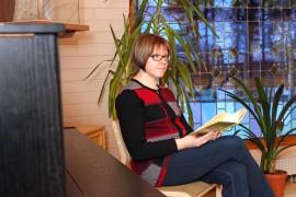 Marja Seppälä hiljentyy mielellään runojen parissa.