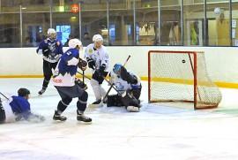 Taru Hockey heräsi tositoimiin ottelun toisessa erässä ja kaatoi Kankaanpään Jääkarhut lopulta lukemin 4–2. Kuva: Markku Pönni.