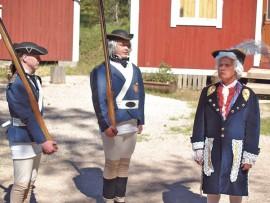 Kesällä 2007 Tarvasjoen kesäjuhlaa vietettiin komeasti ja näyttävästi Armfeltin 250-vuotisjuhlan merkeissä. Kuva: AVL:n arkisto/Marika Timonen