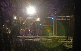 Rintamamiestalon keittiö paloi Heikinsuolla tiistaina. Kuva: Simo Päivärinta
