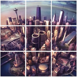 Foo Fightersin Sonic Highways tarjoaa tasaisen takovia komppeja.