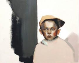 Silja Selosen Siirto nro 2 -teoksen pikkupojan ilme on paljon puhuva.