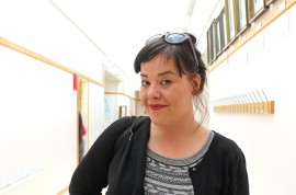 Läänin yhteisötaiteilija Suvi Solkio vieraili viime viikolla Aarrepaja-päiväleirillä Riihikoskella.