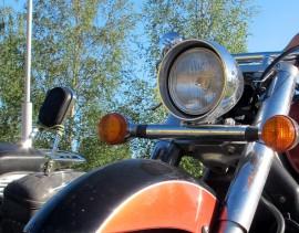 Gospel Ridersin motoristit suuntaavat tänään keulat kohti Auraa.