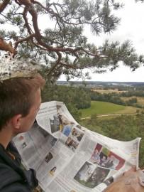 Jouni Kivijärven kuva Hienoissa maisemissa voitti KesäPlus-lehdessä julkaistun kuvakilpailun. Kuva on otettu Salossa lähellä Karjaskyläntietä.
