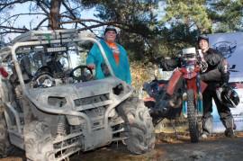 Risto Närvä ja Mikko Viitanen suuntaavat mönkijällään ja enduropyörällään maaliskuussa Marokkoon. Mellilän tapahtumalla kartutetaankin tiimin ensimmäisen aavikkorallin matkakassaa.