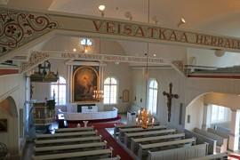 Martinpäivien juhlinta alkaa Marttilan kirkossa sunnuntaina 1.11. ja myös päättyy siellä kaksi viikkoa myöhemmin. Kuva: Heidi Pelander