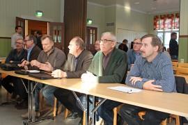 Rauno Lehtovuori, Reino Kallio, Hemmo Hartman ja Hannu Aalto osallistuivat sidosryhmäkuulemiseen.