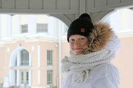 Pöytyäläinen Johanna Matintalo on paria kurssia ja kevään kirjoituksia vaille valmis ylioppilas Turun Kerttulin lukion urheilulinjalta.