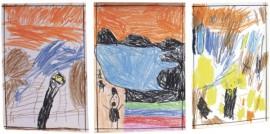 """Edvard Munchin """"Huuto"""" sai lapsilta monenlaisia tulkintoja. Sekin selvisi, miksi teoksessa huudetaan."""