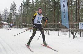 Pöytyälle ropisi mitaleita viikonvaihteessa. Anu Saarinen (PöU) oli maalissa N16-sarjan toinen.