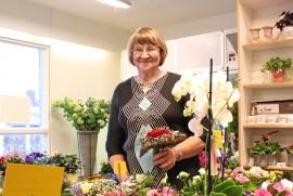 Pirjo Vainion mukaan ihmisten kukkamaku ei ole 30 vuodessa juurikaan muuttunut, mutta valikoima on laajentunut. Hänen oma lempikukkansa on ruusu.