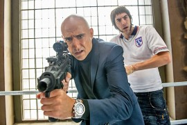 MI6-agentti Sebastian Gravesilla (Marks Strong) ei mene kaikki ihan putkeen kun ääliö veli Nobby (Sacha Baron Cohen) tulee avuksi.