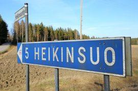 Heikinsuon tulevaisuus on Pöytyän valtuuston mielestä edelleen Pöytyällä. Kuva: Marika Timonen.