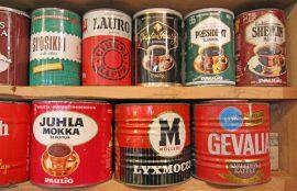 Matin museossa on nähtävää entisistä kahvipurkeista aina maataloustarvikkeisiin asti.