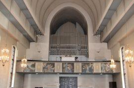 Kosken kirkon urut ovat alkuperäiset ja vaativat huoltamista. Kuva: Asko Virtanen