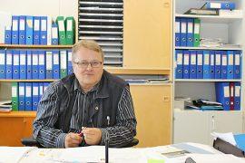 Oripään vt. kunnanjohtaja Pekka Paju.