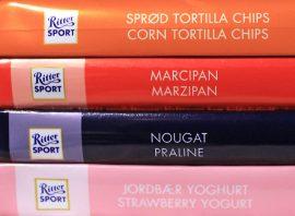 Heikko, hyvä, parempi ja parhain. Ritter Sport -suklaita on joka makuun.